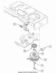 Mtd 14ap805k730  2006  Parts Diagram For Pto