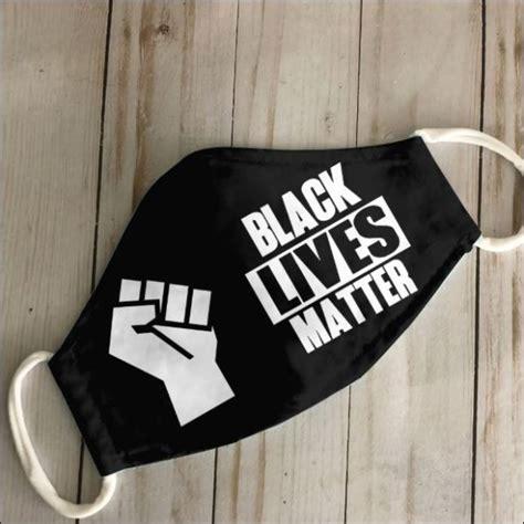 black lives matter face mask dnstyles leesilk shop custom shirts   usa  eu