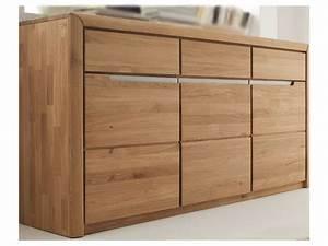 Sideboard Eiche Modern : quadrato sideboard in eiche massivholz f r ihr wohnzimmer ~ Frokenaadalensverden.com Haus und Dekorationen