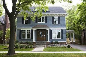 slate blue paint color scheme for exterior house those With light blue paint for tropical home design