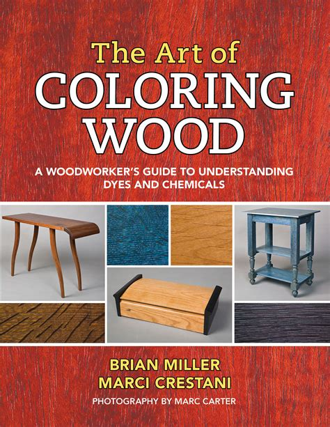 art  coloring wood  woodworkers guide