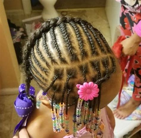 toddler braided hairstyles  beads  natural hairstyles