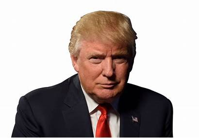 Trump Donald Transparent President Headshots Bill Clipart