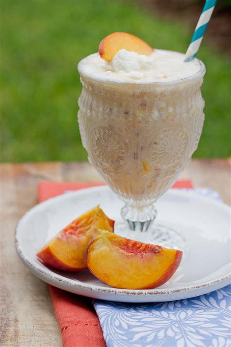 Peach Milkshakes Love Zest