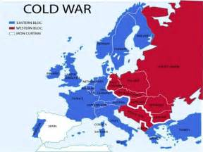 cold war map from 1945 to 1961 thinglink