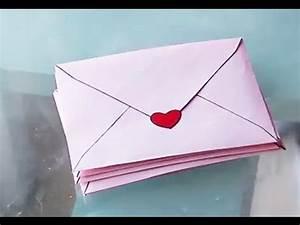 Comment Fabriquer Une Enveloppe : diy fabrication d 39 une jolie enveloppe tutoriel clair ~ Melissatoandfro.com Idées de Décoration