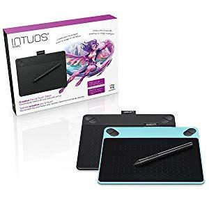 tavola grafica mac wacom cth 490ck s intuos comic tavoletta con penna e touch