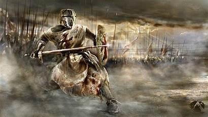 Knight Medieval Wallpapers Crusader