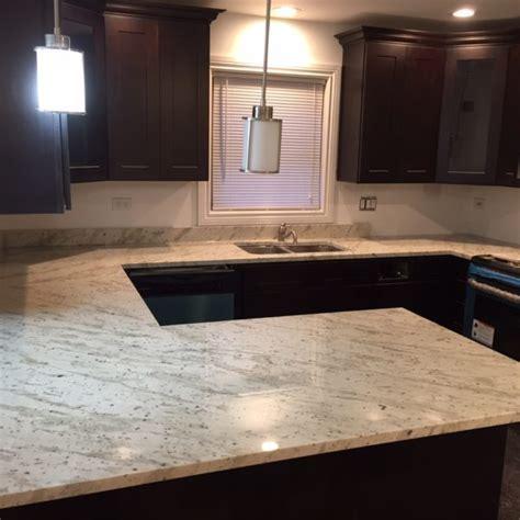 River White Granite Counterop   Stone City Kitchen & Bath