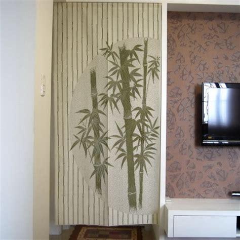 bamboo design door curtain d2942 contemporary