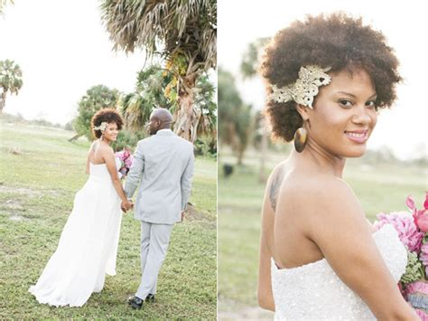 More Natural Black Wedding Hairstyles To Lead You Towards