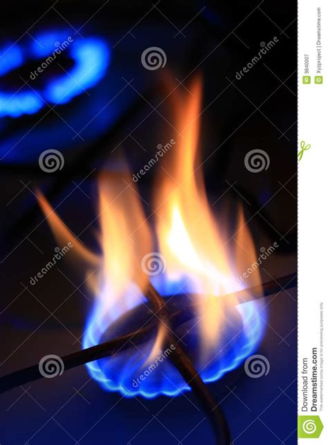 That Is On Gas by Gas Burning Stock Image Image Of Equipment