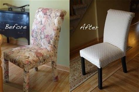 reupholster parsons chair diy chairs