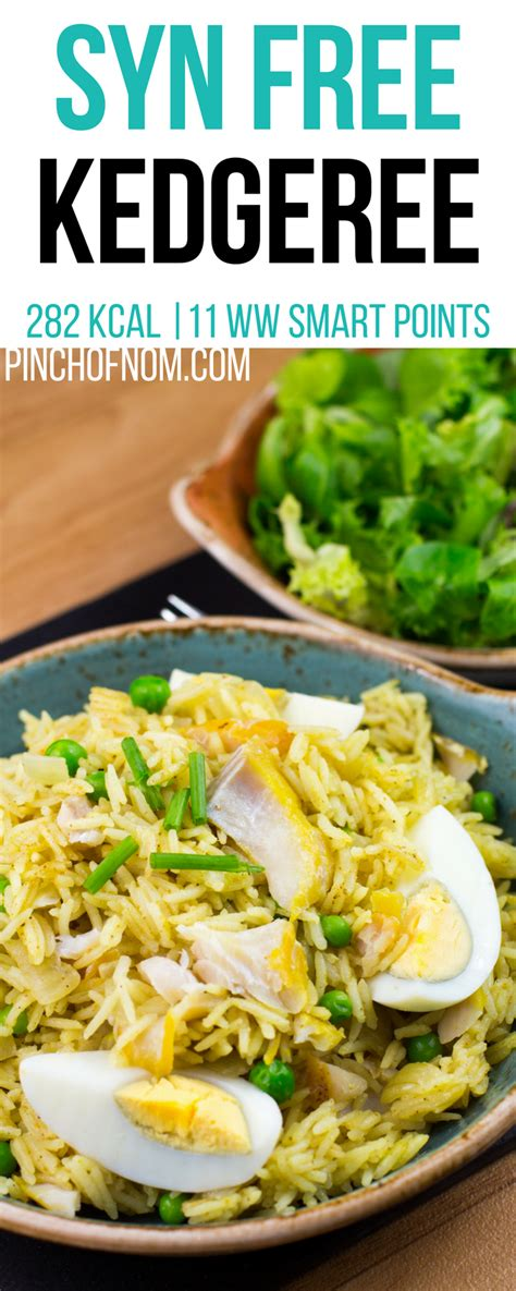As for the spices, traditional kedgeree contains curry powder. Syn Free Kedgeree   Pinch Of Nom Slimming World Recipes ...
