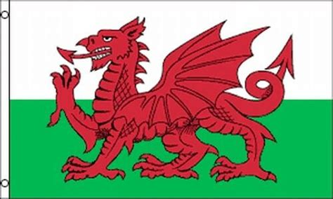 flag  wales  welsh banner uk red dragon  cadwaladr