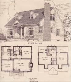 home design books colonial revival cape cod house plans the portland telegram plan book oregon no 619