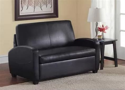 Small Loveseat Sleeper Sofa by Black Sofa Sleeper Loveseat Convertible Bed