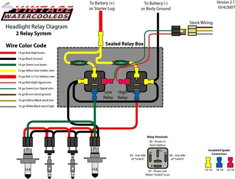 Vanagon Wiring Diagram Ingition Module by Headlight Upgrade Corvetteforum Chevrolet Corvette