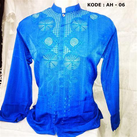 Koko Anak Lengan Panjang baju koko lengan panjang warna biru terbaru murah jual