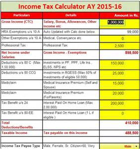 cfp class online income tax calculator 2014 ay 2015 16