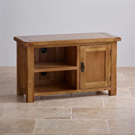 cabinet furniture original rustic tv cabinet in solid oak oak furniture land