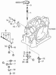2000 Kia Sephia Manual Linkage System