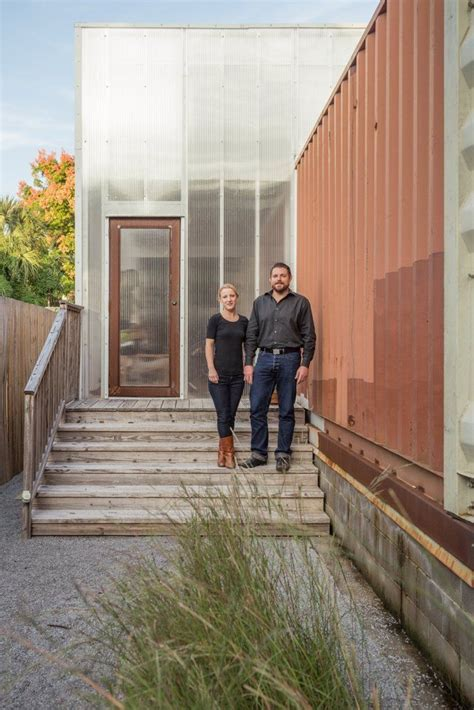 seth elisabeths shipping container home   orleans