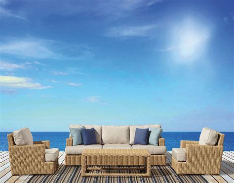 outdoor patio furniture sunbrella wicker modern resin hdpe