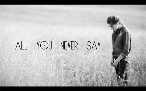 When You Say Nothing At All: All You Never Say [Official Lyric Video]