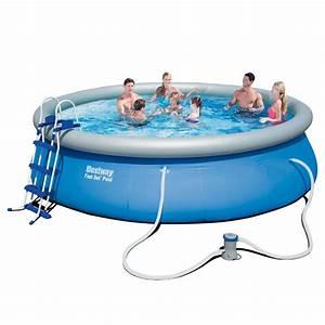 Bestway Pool Set : bestway fast set pool 15ft 15ft fast set pool with filter pump all round fun ~ Eleganceandgraceweddings.com Haus und Dekorationen