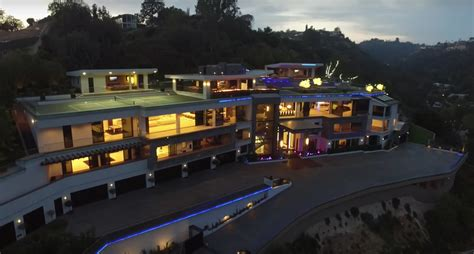 million newly built modern mega mansion  bel air ca homes   rich