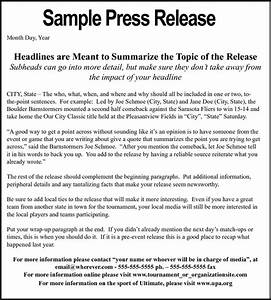 what is the difference between press conference and press With conference press release template