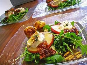 Salat Mit Ziegenkäse Und Honig : gudruns apfel speck ziegenk se t rmchen mit honig und ~ Lizthompson.info Haus und Dekorationen