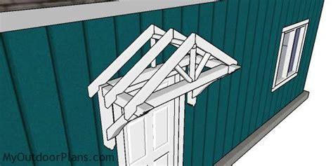 door canopy plans myoutdoorplans  woodworking