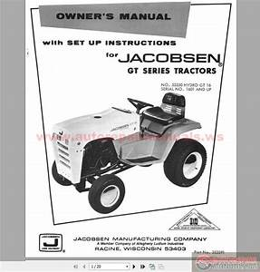 Jacobsen Gt16 Hydro 53330 Owner Manual