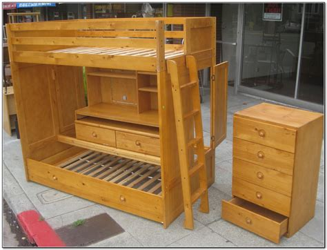 bunk bed with trundle and desk bunk bed with trundle and desk beds home design ideas