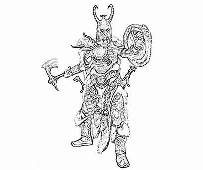 Skyrim Coloring Pages Elder Scrolls Alchemy Yumiko