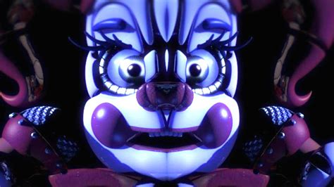 scariest fnaf character  fnaf sister location baby