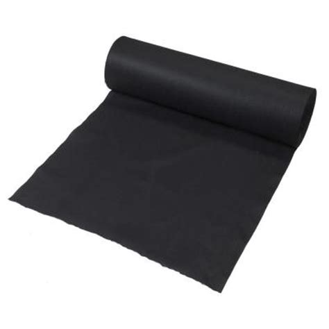 3 ft x 300 ft black polypropylene non woven filter fabric 35 3 300 the home depot