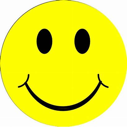 Face Happy Yellow Clipart Clip Smiley Faces