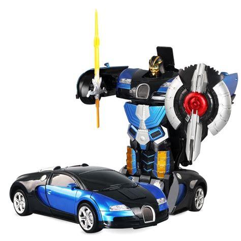 transformer rc car blue