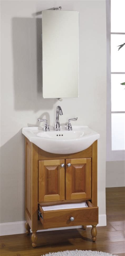 Small Bathroom Vanities With Sink by 22 Inch Narrow Depth Console Bath Vanity Custom Options