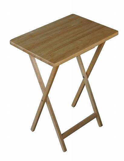 Tray Folding Wooden Wood Trays Brown Tables