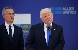 Trump unequivocally pledges to protect NATO from Russia ...