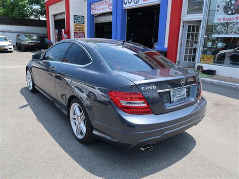 Taxes and fees (title, registration, license, document and transportation fees) are not included. 2013 MERCEDES-BENZ C-CLASS C250 COUPE 48847 Miles STEEL GREY METALLIC SEDAN 4 CY for sale in ...