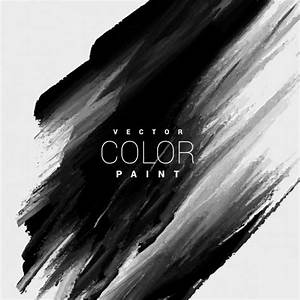 Black color paint stain background Vector | Free Download