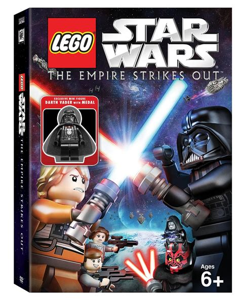 Amazon Lego Star Wars The Empire Strikes Out Dvd Only 7