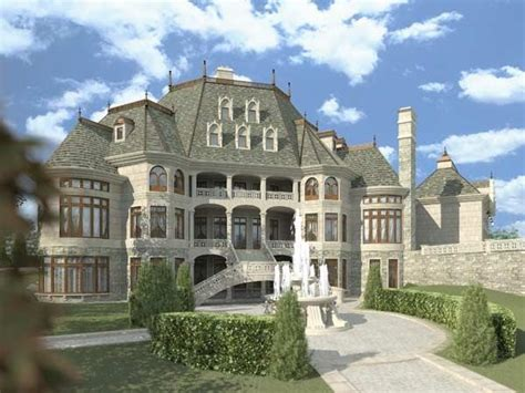 chateau novella house plan luxury house plans mansions small castles