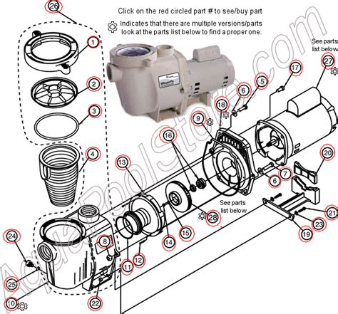 Superflo And Motor Wiring Diagram by Pentair Whisperflo Parts