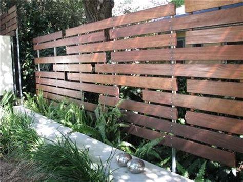 cool fence ideas horizontal fence unique fences pinterest